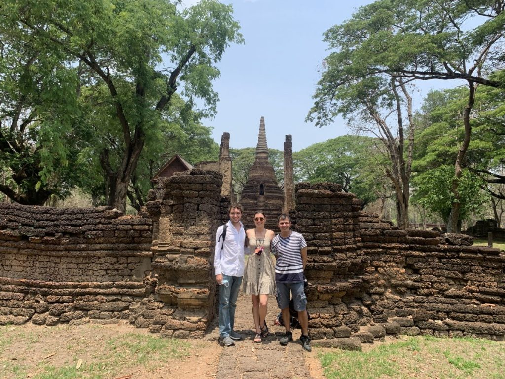Amber Teaching in Thailand