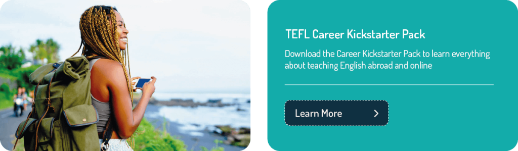 TEFL career Kickstarter pack